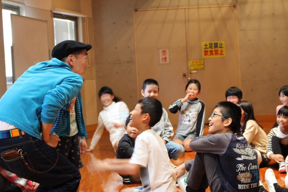 川南のサンA川南文化ホールでワークショップ始まりました!