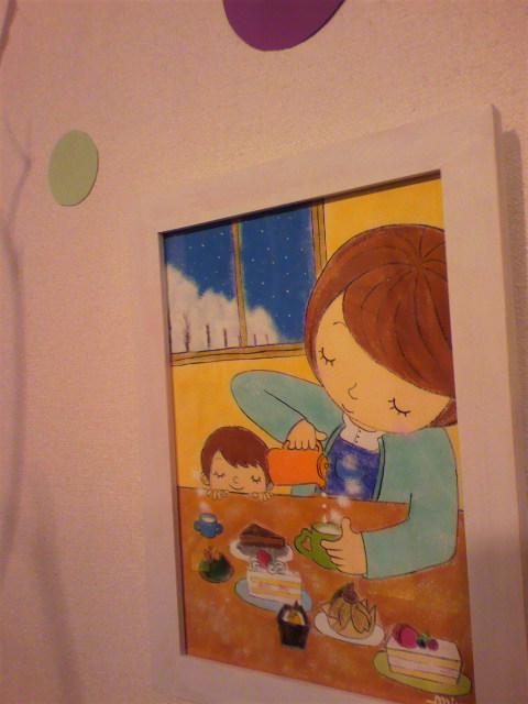 miyu作品展『光と・・・』4日目