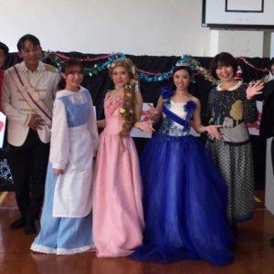 西原児童センターではお姫様たちが勢ぞろいしました!