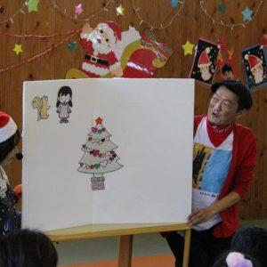 クリスマスパネルシアターも大人気!